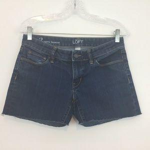 Ann Taylor Loft Women's Jeans Short Size 2 CUT OFF